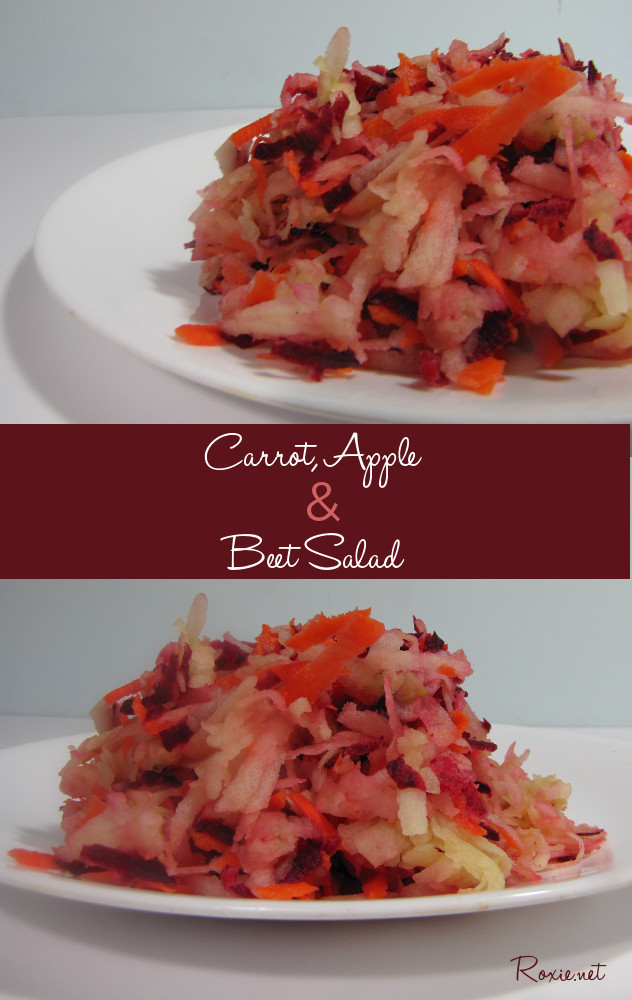 Carrot, Apple and Beet Salad - Roxie.net