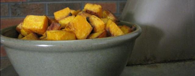 Roasted Cinnamon Butternut Squash - Roxie.net
