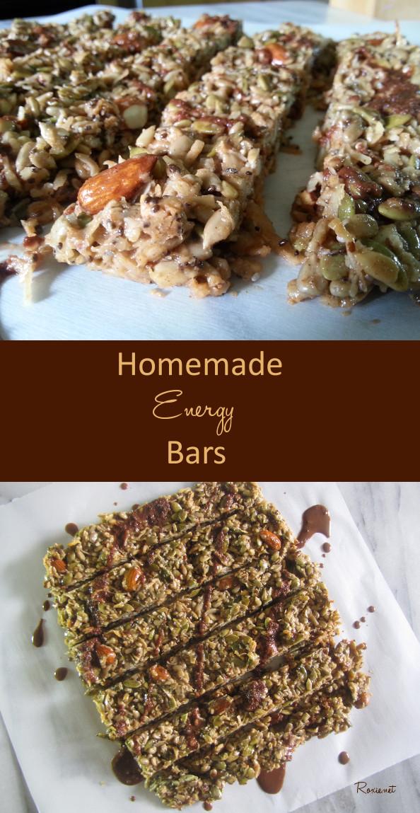 Homemade Energy Bars Gluten Free, Paleo Friendly, Customizable - Roxie.net